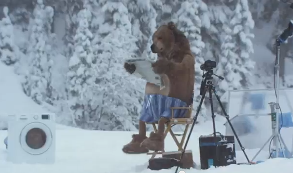 Superbowl Bear - Video production