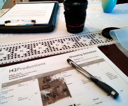 pre-production 142 Productions