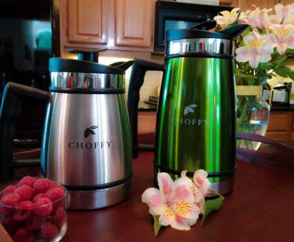 Choffy branded coffee mugs