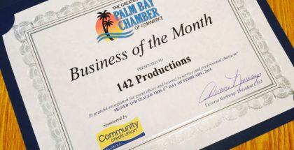 Business of the Month - 142 Productions