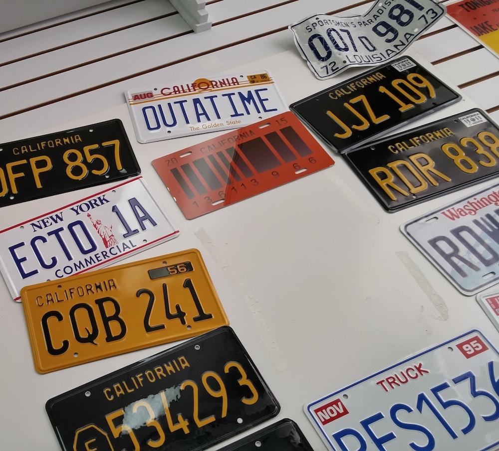 Atlantic pack N parcel - License Plates