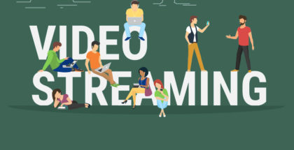video streaming illustration