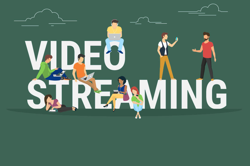 video streaming illustration