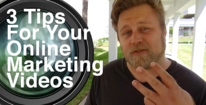 3 Tips for Online Videos THUMB